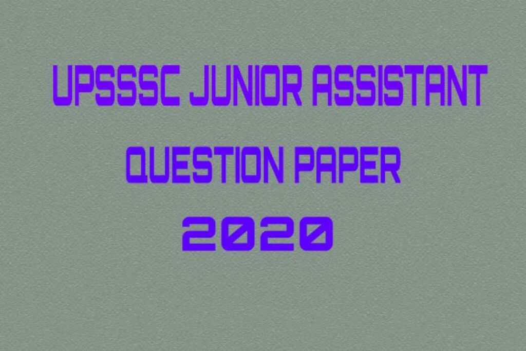 upsssc junior assistant question paper 2019 pdf, upsssc junior assistant question paper 2018 pdf, upsssc junior assistant model paper in hindi pdf, upsssc junior assistant previous year paper in hindi pdf, upsssc junior assistant paper 2019, upsssc junior assistant practice set pdf download,junior assistant paper pdf 2020, upsssc junior assistant syllabus