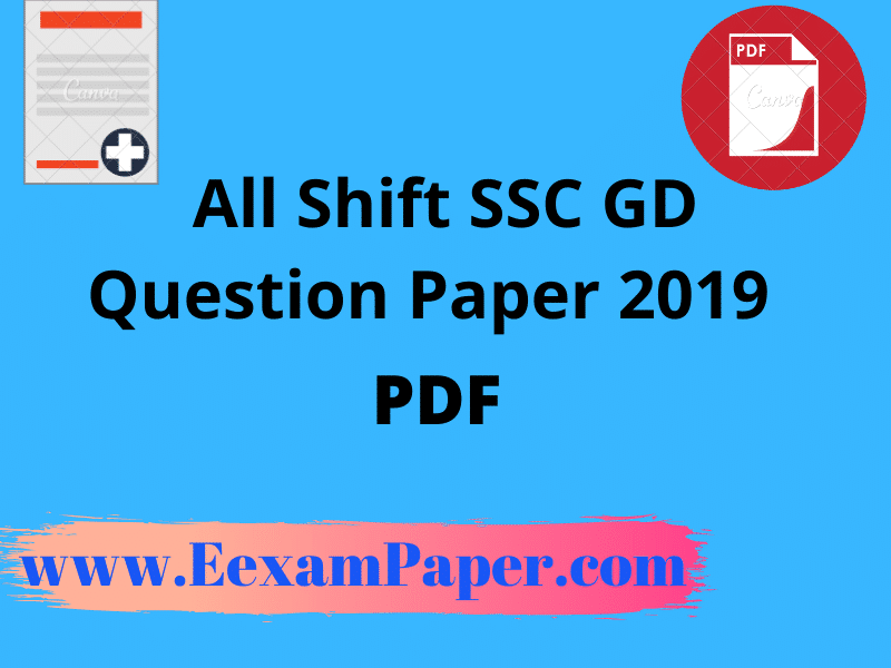 ssc gd paper pdf download in hindi, ssc gd question paper 2019 pdf,ssc gd question paper 2019 in hindi,ssc gd constable previous year question paper pdf in english, ssc gd previous year paper in hindi,ssc gd paper 2019, ssc gd all shift question paper 2019 pdf in hindi, ssc gd previous year question paper in hindi pdf download, SSC GD Question Paper 2019 pdf in Hindi and English All Shift, [PDF] SSC GD Previous Year Question Paper, SSC GD Constable Sample Paper/Model Paper 2020 Pdf Download in Hindi, ssc gd question paper in hindi pdf, ssc gd previous year question paper in hindi pdf, ssc gd constable question paper 2015, ssc gd question papers, ssc gd question paper