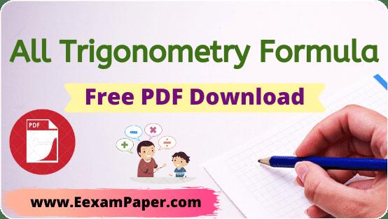 ट्रिग्नोमेट्री फार्मूला चार्ट PDF, त्रिकोणमिति गणित PDF, त्रिकोणमिति के सूत्र PDF Download, त्रिकोणमिति के सभी सूत्र PDF Download, त्रिकोणमिति सवाल PDF, त्रिकोणमिति सूत्र 12 वीं PDF, त्रिकोणमिति 10 वीं कक्षा, त्रिकोणमिति सूत्र 10 वीं कक्षा PDF, कक्षा 10 के लिए त्रिकोणमिति सूत्रों, त्रिकोणमिति सवाल PDF, त्रिकोणमिति के सभी सूत्र कक्षा 10, त्रिकोणमिति सर्वसमिका के सूत्र, प्रतिलोम त्रिकोणमितीय फलन के सूत्र, trigonometry-formula-pdf-download, trigonometry-formulas-list-pdf, trigonometry-formula-pdf-download-class-10th, trigonometry-maths-notes-pdf-download, trigonometry-formula-pdf-download, trigonometry formula table, trigonometry formula sheet, trigonometry formula pdf in hindi download