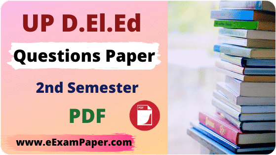 up deled 2nd semester question paper