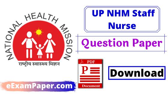 up-nhm-staff-nurse-previous-year-paper-hindi